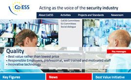 A new Website for CoESS